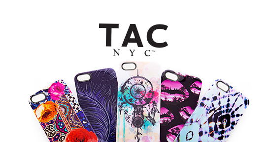 TAC NYC Fashion Infused Tech and Phone Cases