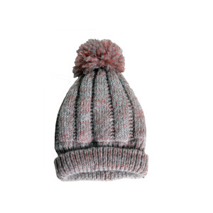 Cuff Hat with Pom