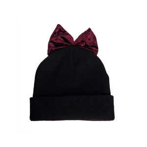 Cuff Hat with Bow