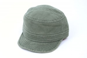 Cadet Caps in Washed Twill