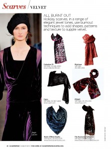 The Accessory Collective Velvet Scarf